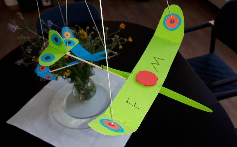 Flugzeug Mobilée